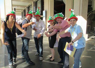 Sydney Amazing Race Christmas 2