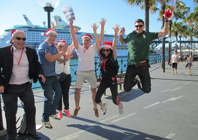 Sydney Amazing Race Christmas 8