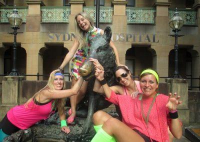 Sydney Amazing Race Hyde Park 15