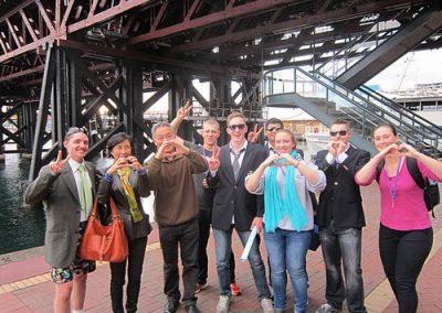 Sydney Amazing Race Prymont Darling Habour 16