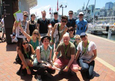 Sydney Amazing Race Prymont Darling Habour 38