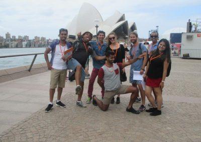 Sydney Amazing Race Rocks 20