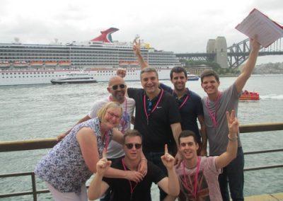 Sydney Amazing Race Rocks 25