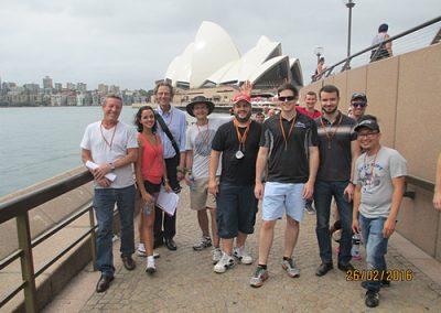 Sydney Amazing Race Botanic Gardens13
