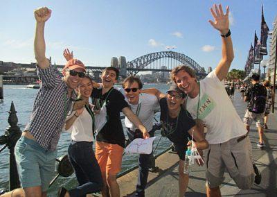 Sydney Amazing Race Botanic Gardens15