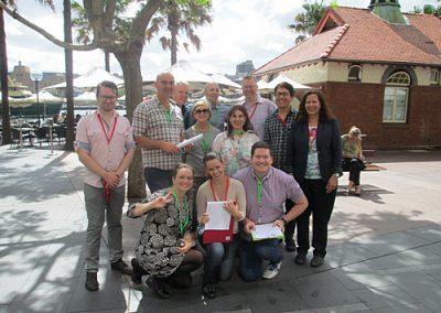 Sydney Amazing Race Botanic Gardens20