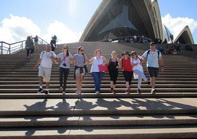 Sydney Amazing Race Botanic Gardens22