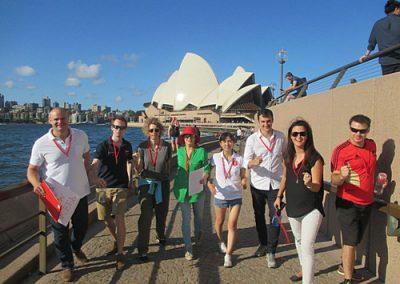 Sydney Amazing Race Botanic Gardens25