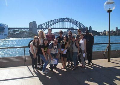 Sydney Amazing Race Botanic Gardens29