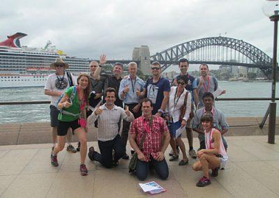Sydney Amazing Race Botanic Gardens6