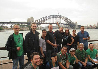 Sydney Amazing Race Botanic Gardens8