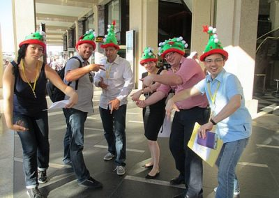 Sydney Amazing Race Christmas 2
