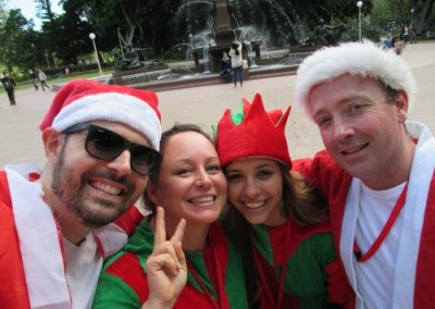Sydney Amazing Race Christmas 22
