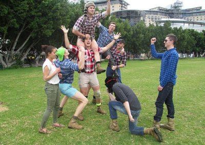 Sydney Amazing Race Prymont Darling Habour 10