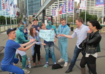 Sydney Amazing Race Prymont Darling Habour 2