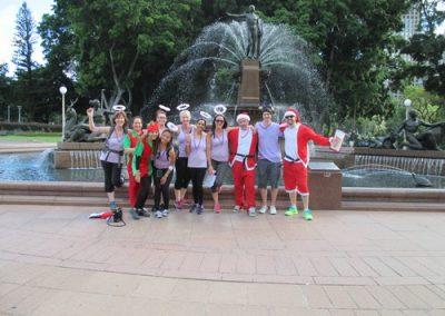 Sydney Amazing Race Christmas 25