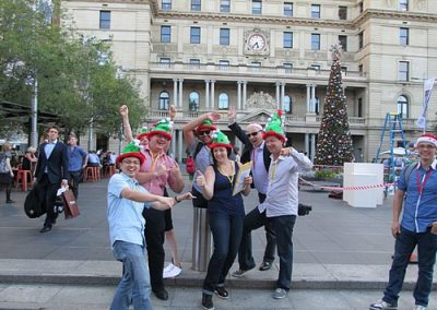 Sydney Amazing Race Christmas 3