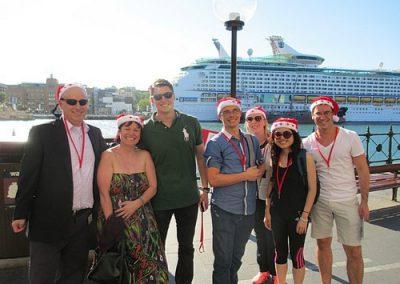 Sydney Amazing Race Christmas 7