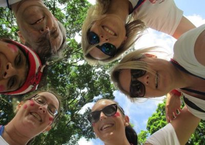 Sydney Amazing Race Hyde Park 1