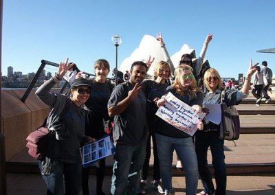 Sydney Amazing Race Hyde Park 10