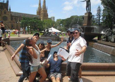 Sydney Amazing Race Hyde Park 23