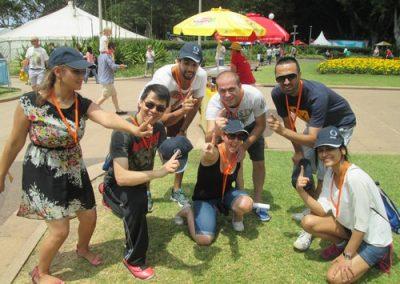 Sydney Amazing Race Hyde Park 33
