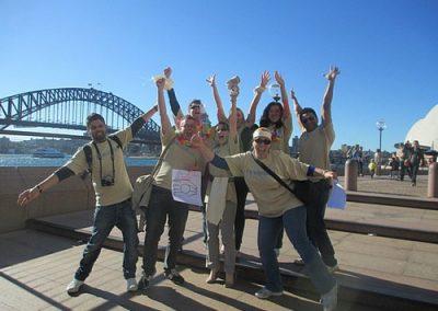 Sydney Amazing Race Hyde Park 8