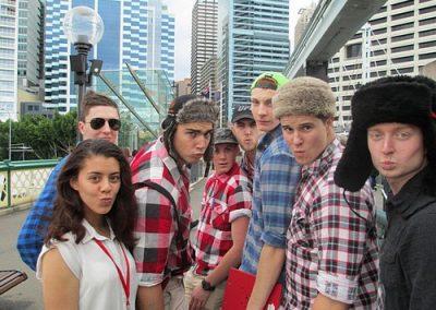 Sydney Amazing Race Prymont Darling Habour 3