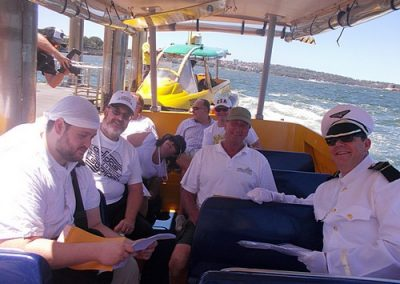 Sydney Amazing Race Water Taxis 14