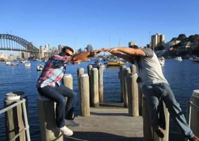 Sydney Amazing Race Water Taxis 4