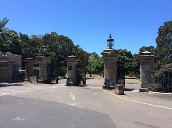 Sydney Amazing Race Botanic Gardens course information starting point