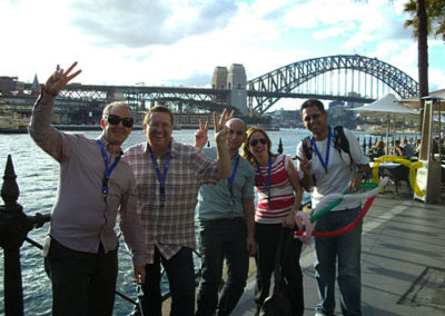 amazing-race-sydney-team-building-sydney-harbour-bridge